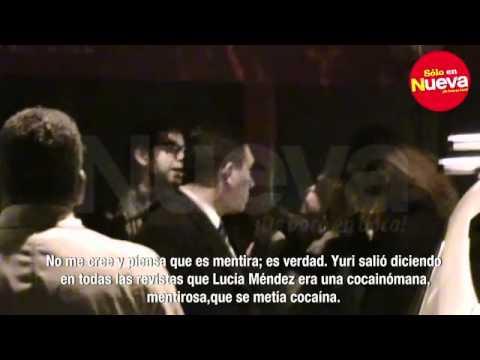Video de Itati Cantoral borracha insulta a Lucia Mendez y Yuri
