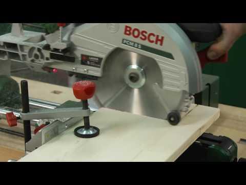 Tutorial: Kapp- und Gehrungssäge PCM 8 S von Bosch