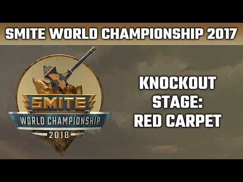 SMITE World Championship 2018: Knock-out Stage Red Carpet