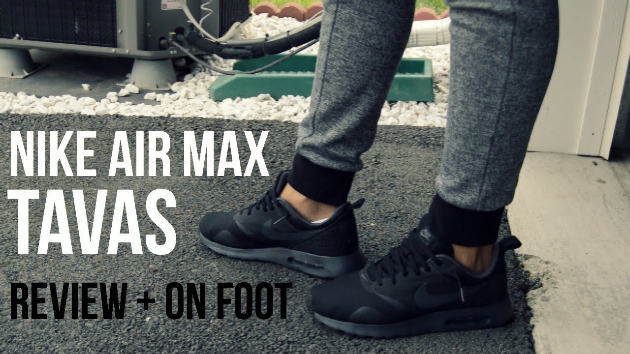 promo code 68a38 53bf5 My Favorite Back To School Shoe - Nike Air Max Tavas + On Foot!