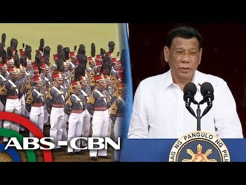 Duterte tells PMA cadets: Die for country if needed