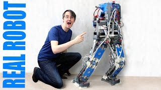 Building Robot X #8 | New Motors | James Bruton