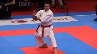 Kata GOJUSHIHO SHO by Jonathan Mottram (ENG) - 21st WKF World Karate Championships