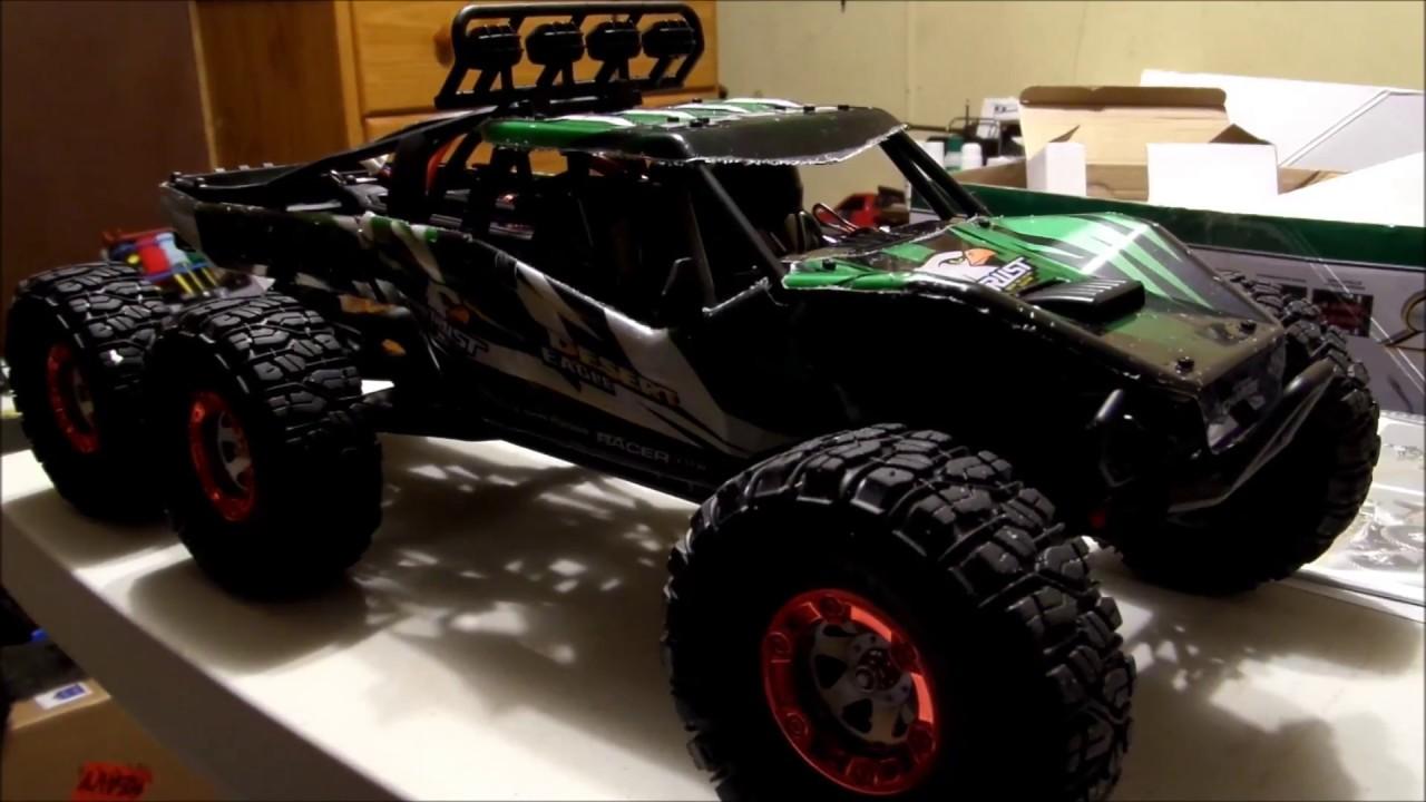 Feiyue FY 06 6x6 Desert Eagle 6 Rock Racer Unboxing - YouTube