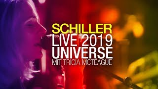 "SCHILLER Live 2019: ""Universe"" // with Tricia McTeague // 4K"