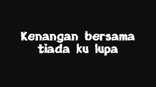 Memori Tercipta Shahila lyrics on screen!   YouTube