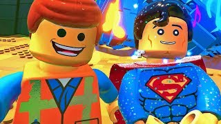 CO SUPERMAN ROBI NA TEJ PLANECIE?   LEGO PRZYGODA 2 GRA #5