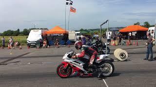 R1 Yamaha drag racing