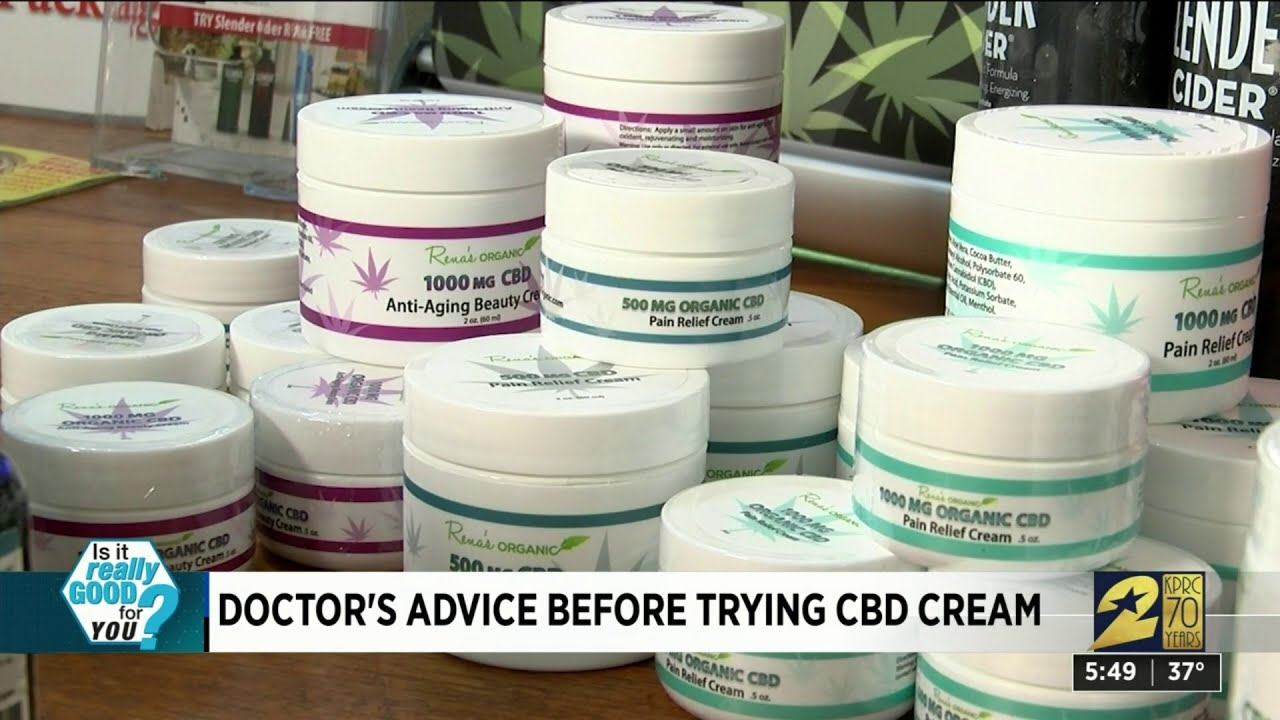 Download Doctor's advice before trying CBD cream