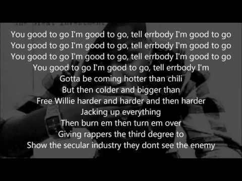 Canon- Good To Go lyrics