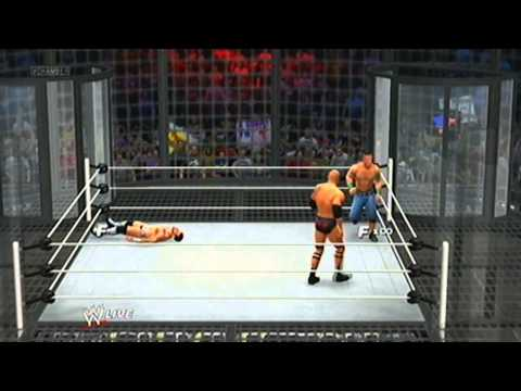 WWE Elimination Chamber John Cena vs Brock Lesnar vs C M Punk vs THe Rock vs Sheamus Travel Video