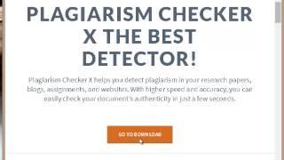 تحميل برنامج اكتشاف النقل العلمي Download plagiarism checker