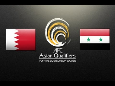 Bahrain vs Syria: Asian Olympic Qualifiers 2012 (Round 3, Match day 5)