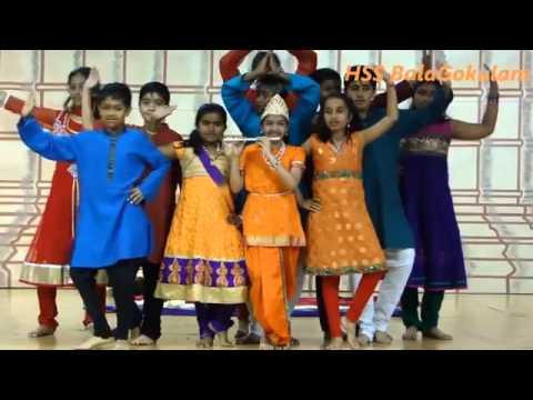 HSS Cupertino Varsha Pratipada balagana dance