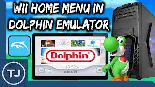 Install Wii Home Menu & Channels On Dolphin Emulator! (PC Windows 10)