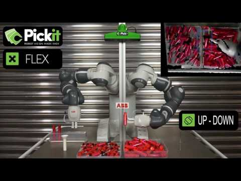 Pick-it Robot Vision For The ABB YuMi Robot.