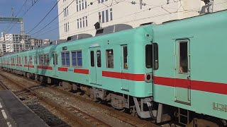 西鉄5000形(6両) 5112F+5120F  A161列車 特急 大牟田行 西鉄久留米到着