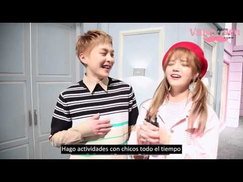 [SUB ESP] 160229 Naver Starcast - 'Call You Bae' Jimin ft Xiumin