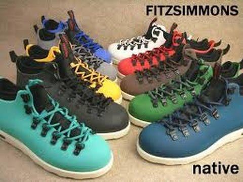 Ботинки туристические Native Fitzsimmons - YouTube 9fd2db10079