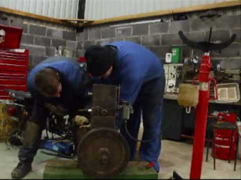 Lister D stationary engine 1942 from YouTube · Duration:  1 minutes 20 seconds