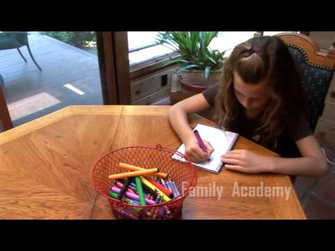 My Manners Notebook: A Family Academy Activity