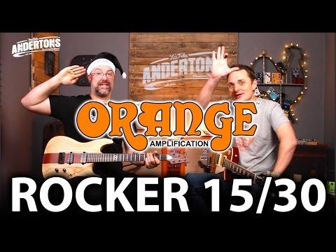 Orange Rocker Guitar Amps - New for 2017!
