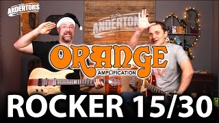 Orange Rocker Guitar Amps - New for 2017!