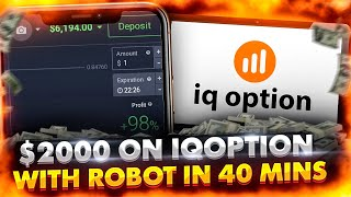 Binary options trading robot made $2000 for me on IQ Option screenshot 4