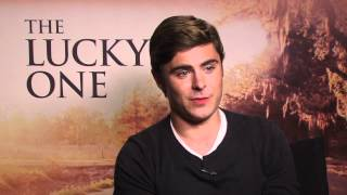 Facebook Fan Questions with Zac Efron - Funniest Moment While Filming The Lucky One