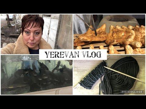 Ереван Влог. Что Нового. Закуп. Цены На Продукты В Ереване. Что  Вяжу? Yerevan Vlog.