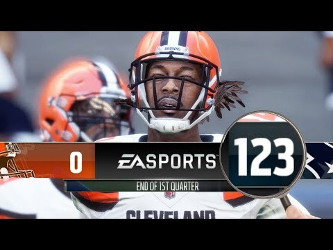 Is It Possible To Score 100 Points In A QUARTER? Madden NFL 18 Challenge