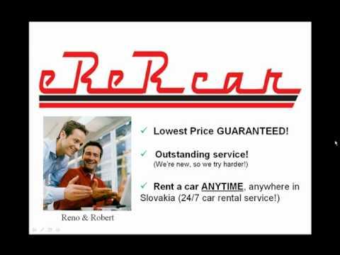 Rent A Car Slovakia.avi