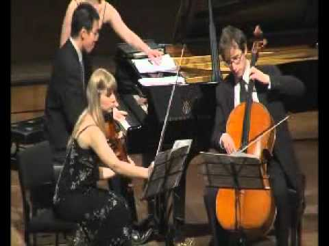 Saguaro Piano Trio, Arensky Trio in D minor op 32, 1st movement Allegro Moderato