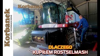 🔴🔴Dlaczego rolnik kupił nowy nabytek kombajn Rostselmash Acros