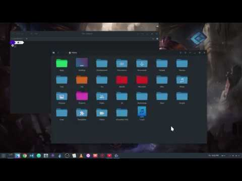 [GNOME 3.24] Create AppFolders From Within Shell ..and A Command Palette For GNOME Apps!