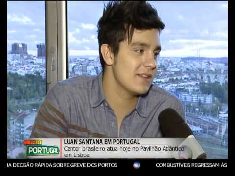 Luan Santana - Fala Portugal