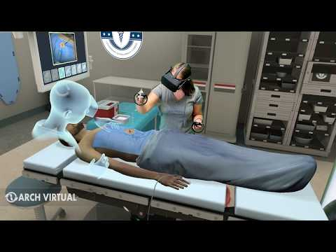 Medical Applications in Virtual Reality