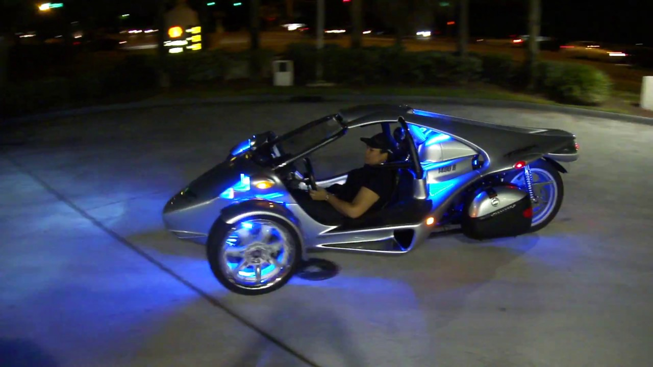 T Rex Motorcycle Trike Youtube