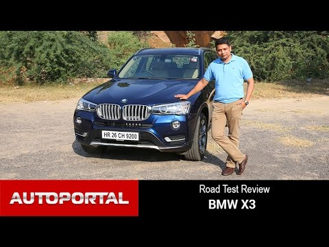 BMW X3 Test Drive Review - Autoportal