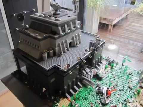 Lego Star Wars Clone Base On Endor Youtube