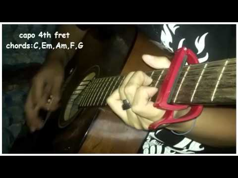 we can\'t stop by miley cyrus guitar cover - YouTube