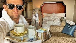 LIVING IN FANCY HOTELS