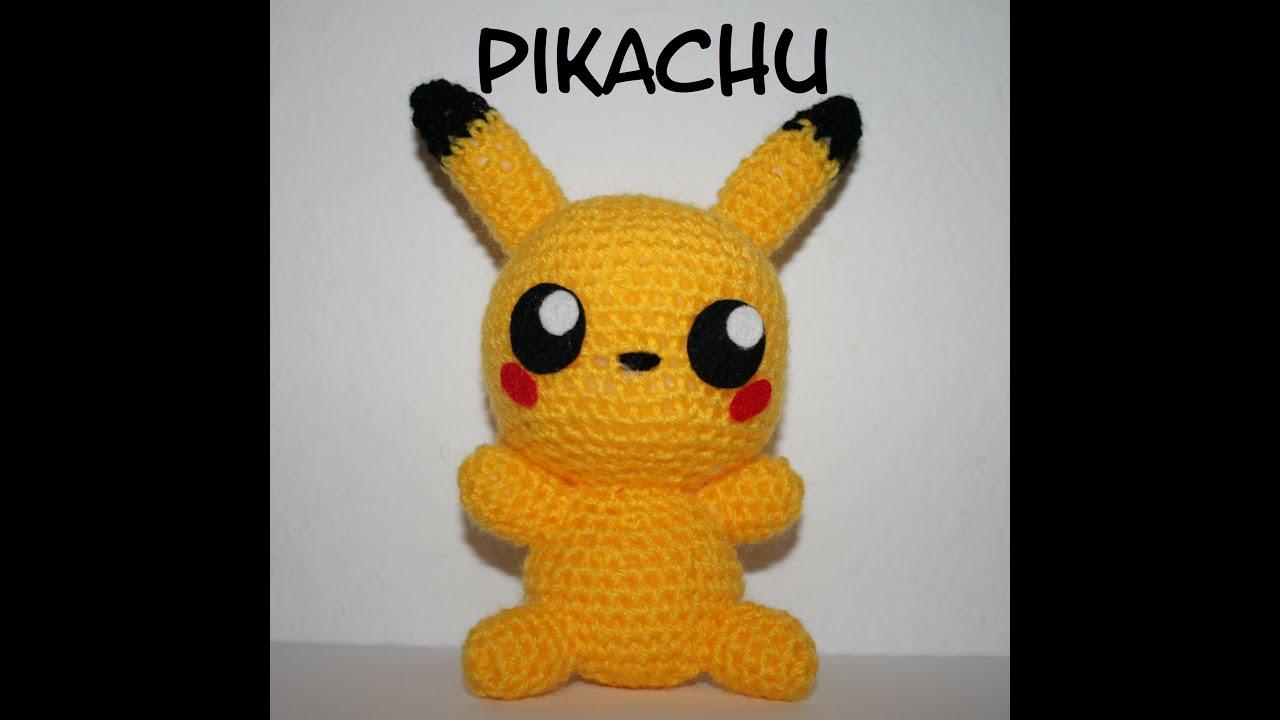 Patrón Pikachu amigurumi - YouTube