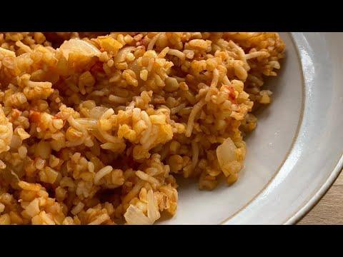 Pourgouri Pilafi – bulgur wheat pilaf