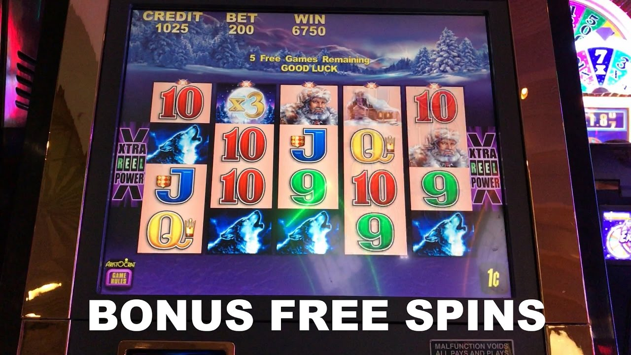 Timber Wolf Live Play Max Bet With Bonus Free Spins Slot