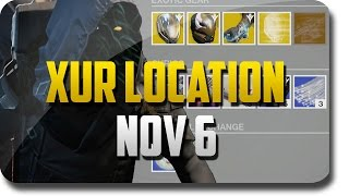 "Destiny Game - ""Xur Location"" and Xur Exotic Guns ""Celestial Nighthawk"" (Destiny ""Xur"" November 6)"