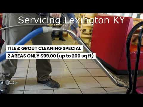 Tile and Grout Cleaning Lexington KY - Shower Cleaning - Centric Cleaning