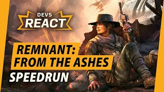 Remnant: From the Ashes Developers React to 1 Hour Speedrun