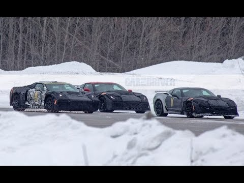 Mid Engine Corvette Spied Road Testing   What We Know