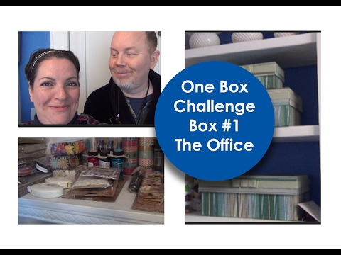 One Box Challenge    Box 1    The Office